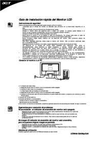 To view the document Acer AL1516W User Manual